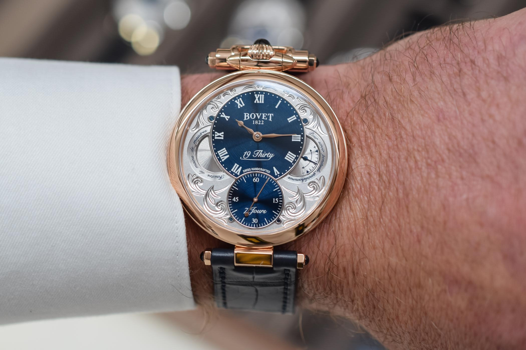 Bovet 19Thirty Fleurier Red Gold