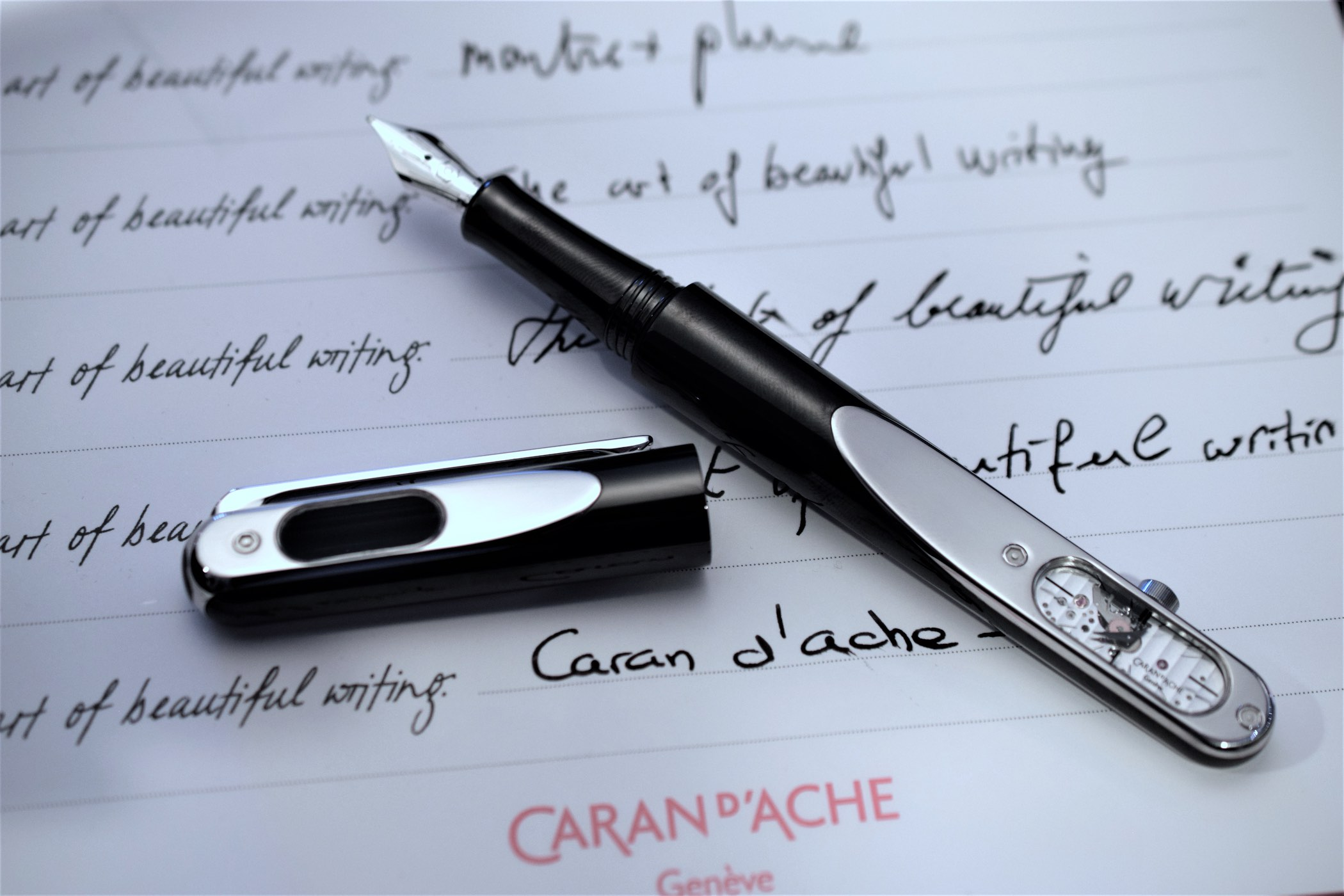 Caran d'Ache Timegraph - Fountain Pen With Mechanical Movement