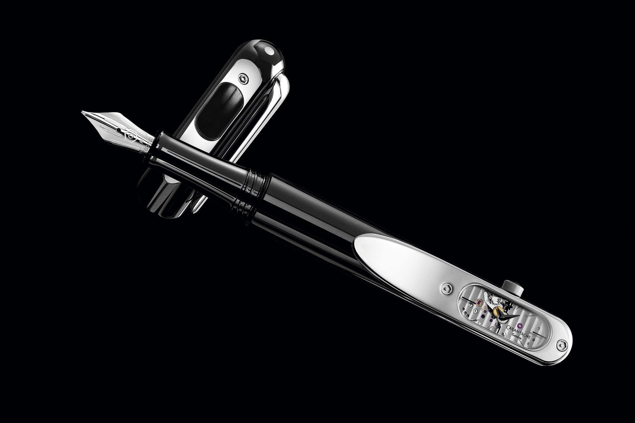 Caran d'Ache Timegraph - Fountain Pen With Mechanical Movement