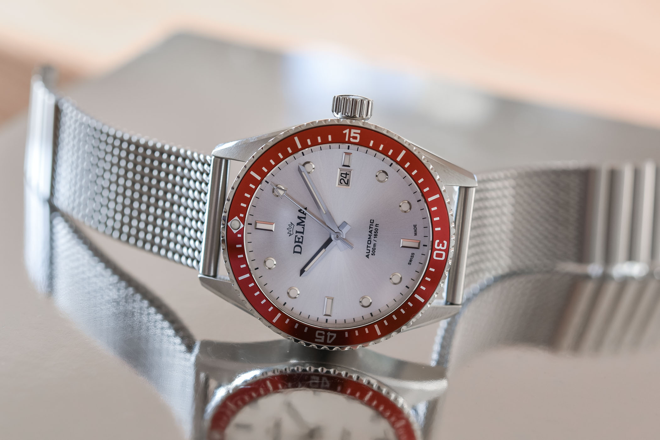 Delma Cayman Automatic Dive Watch - Value Proposition