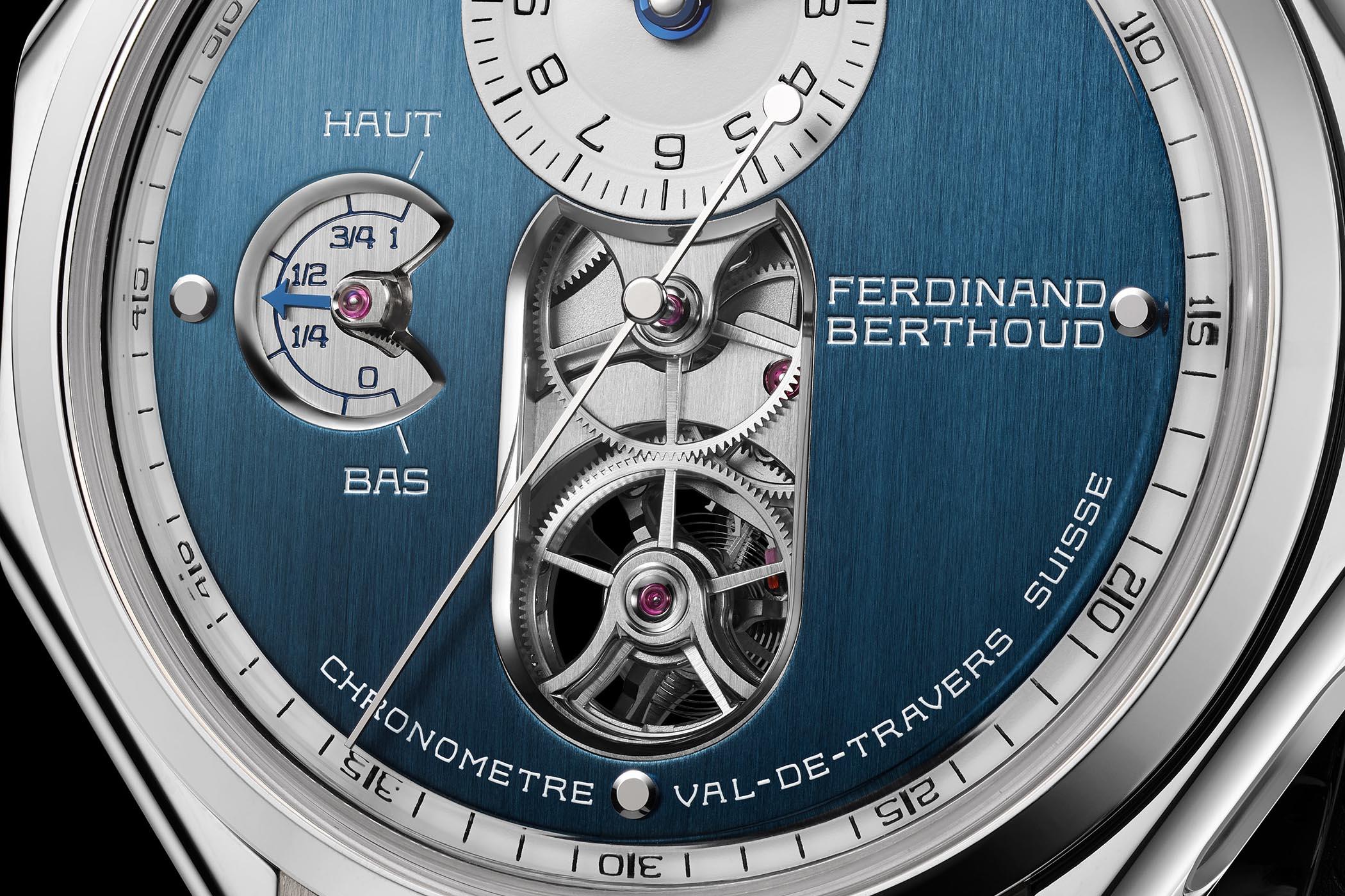 Ferdinand Berthoud FB 1.3-1 Sapphire Blue Chronometer
