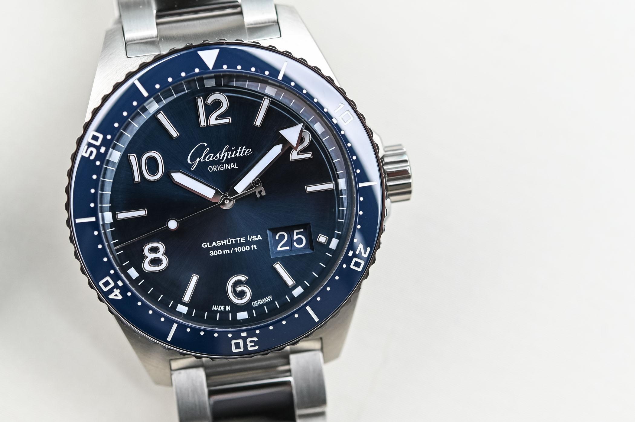 Glashutte Original SeaQ Panorama Date - Dive Watch Review