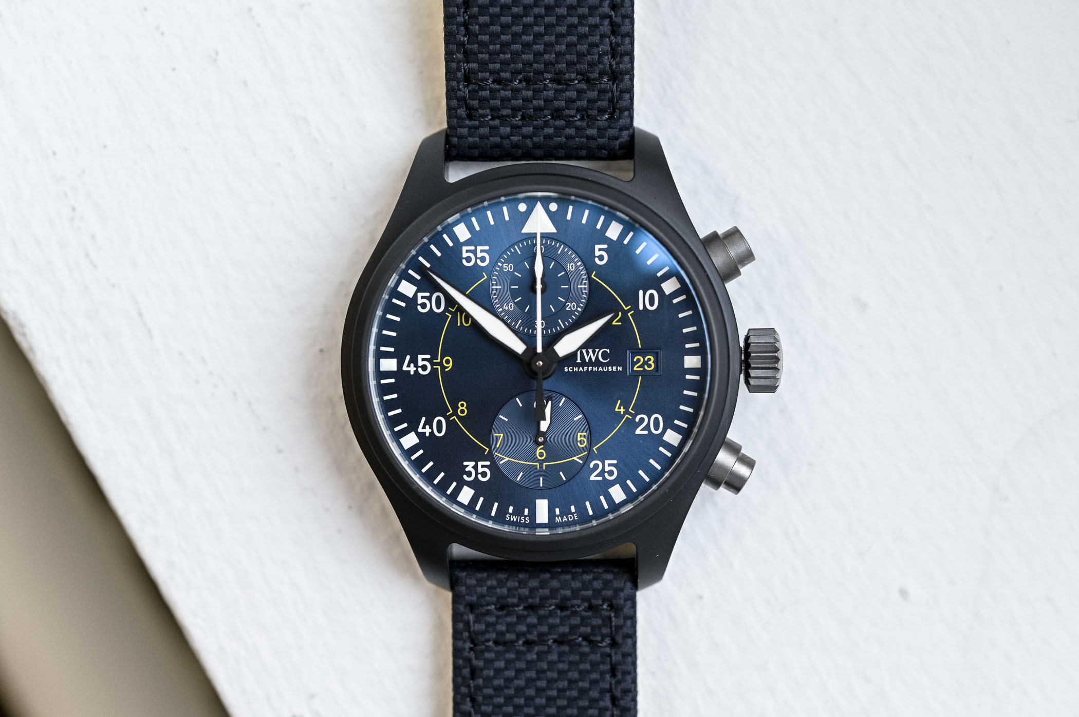 IWC Pilot's Watch Chronograph Edition Blue Angels IW389008