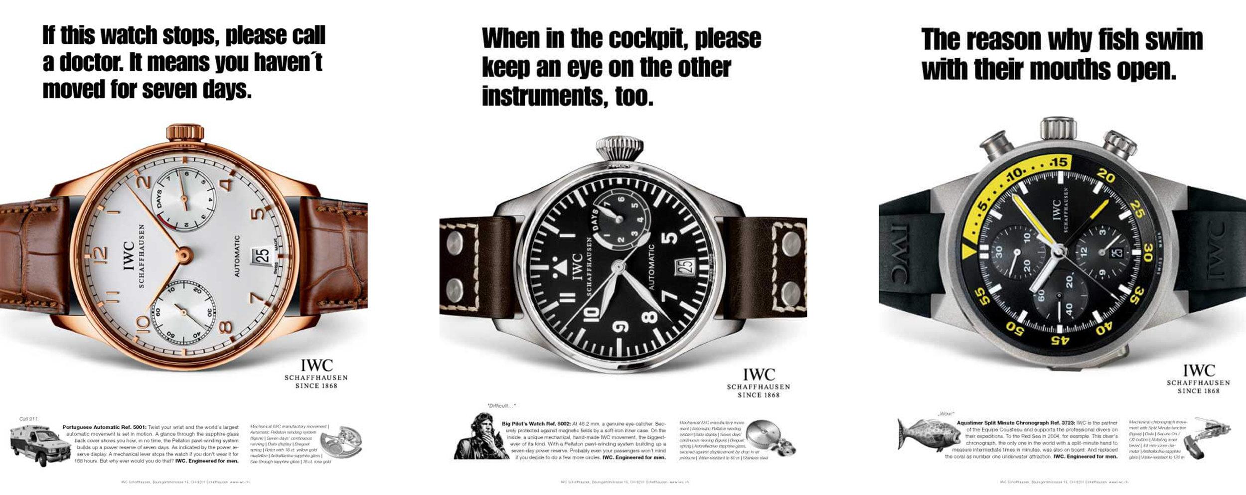 IWC ads