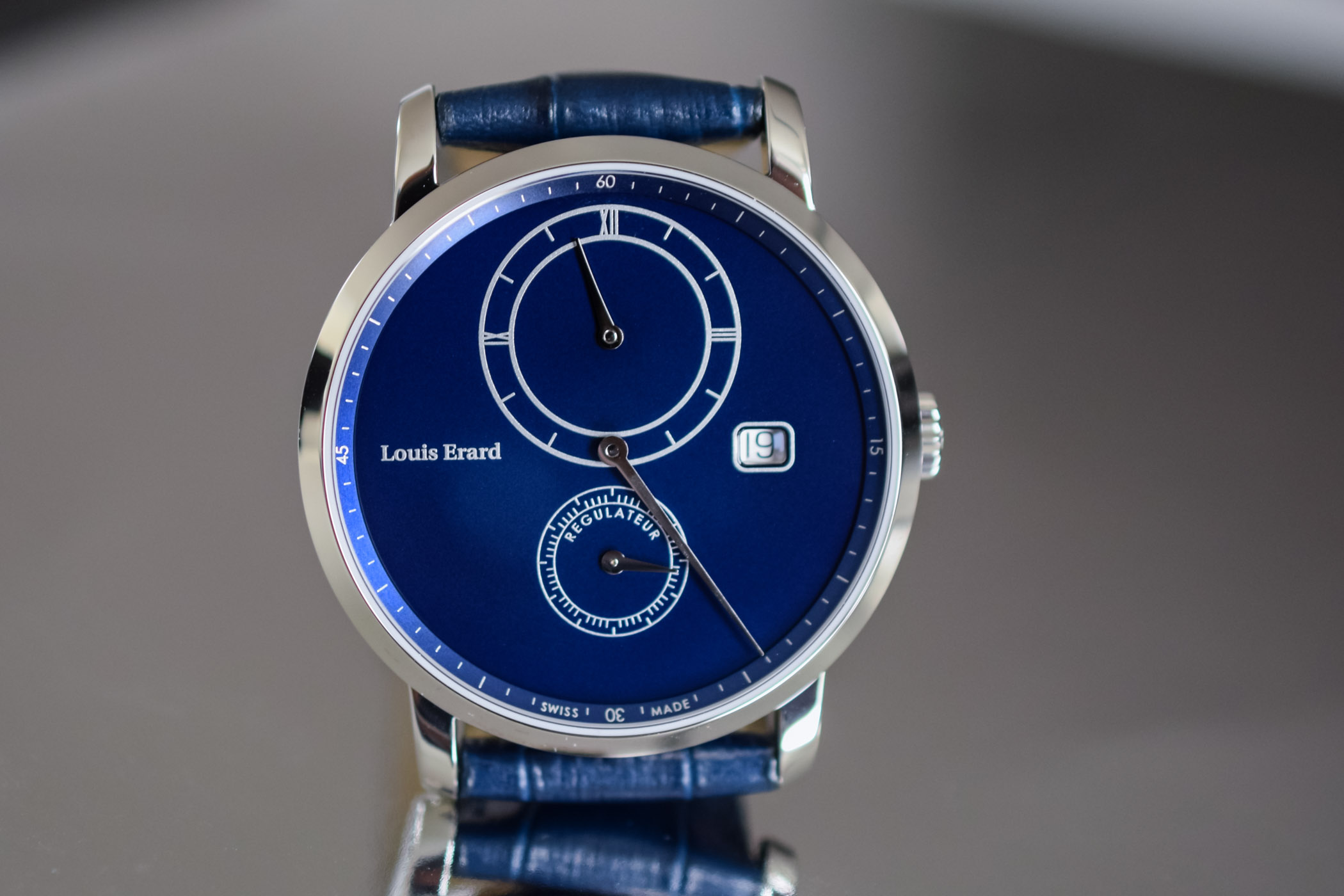 Louis Erard Excellence Regulator - Design Eric Giroud