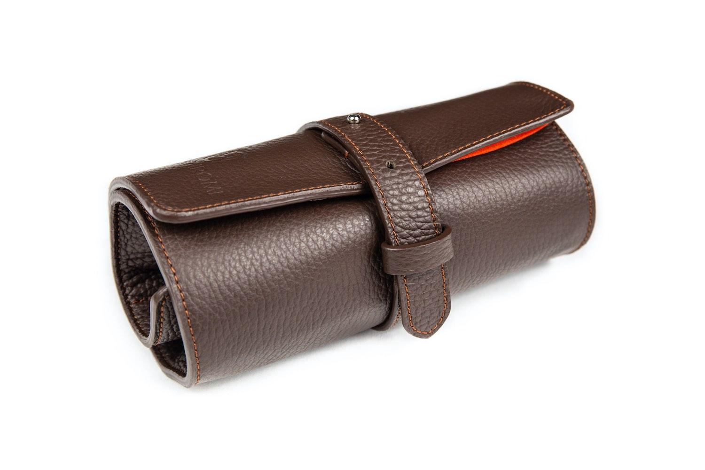 MONOCHROME leather watch rolls - 2