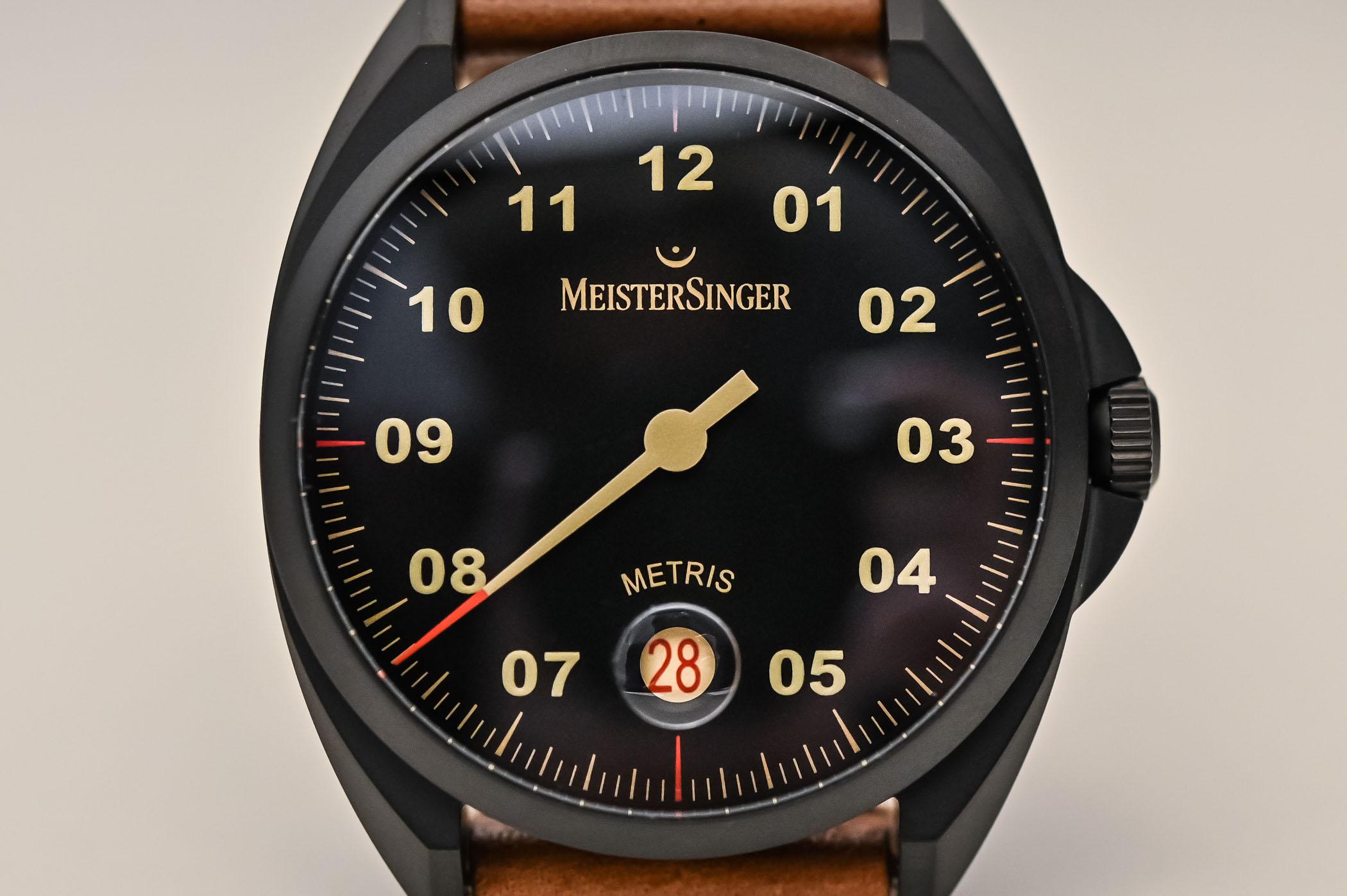 MeisterSinger Metris Black Line DLC