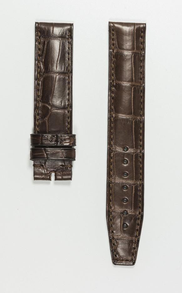 Monochrome hand-made alligator straps - 14