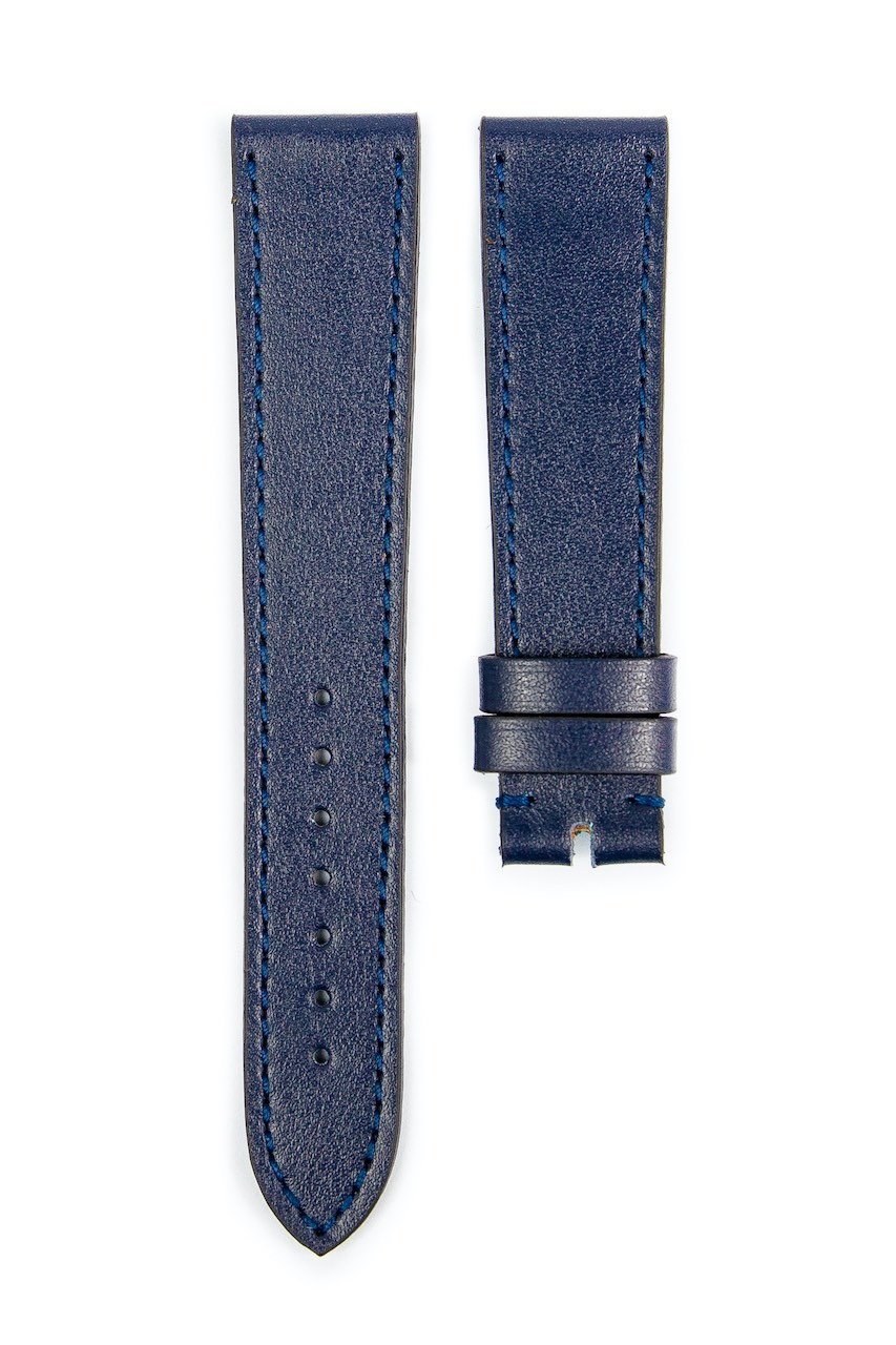 Monochrome hand-made smooth calfskin straps - 11