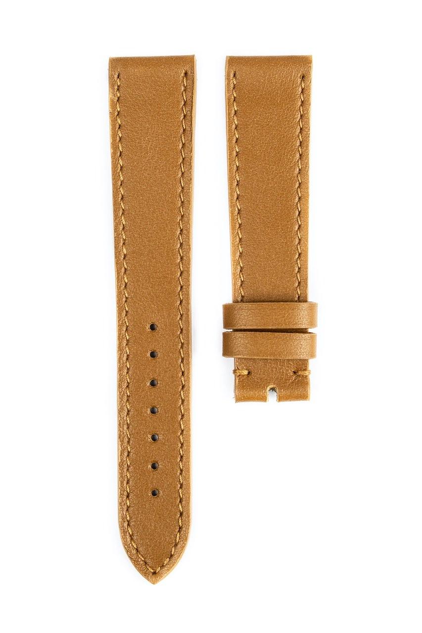Monochrome hand-made smooth calfskin straps - 12
