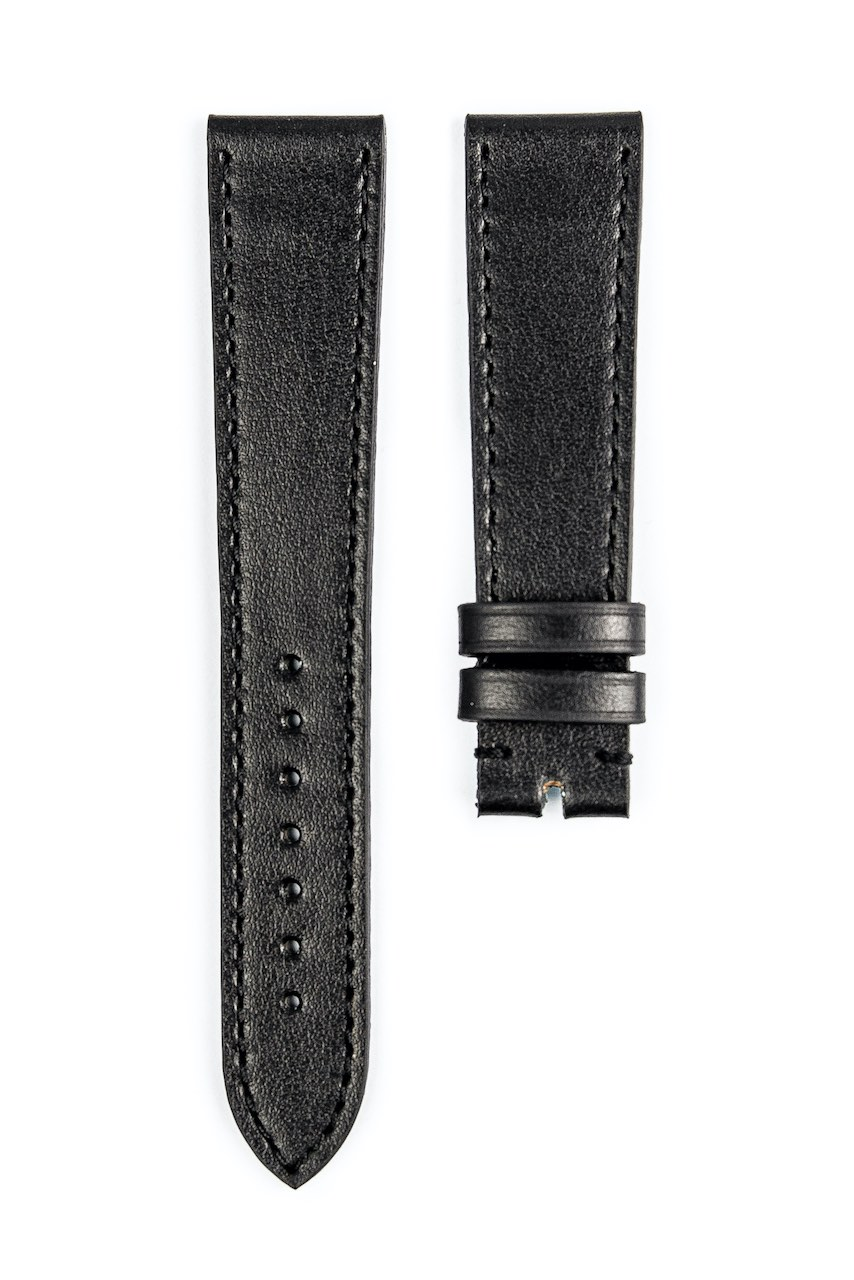 Monochrome hand-made smooth calfskin straps - 13