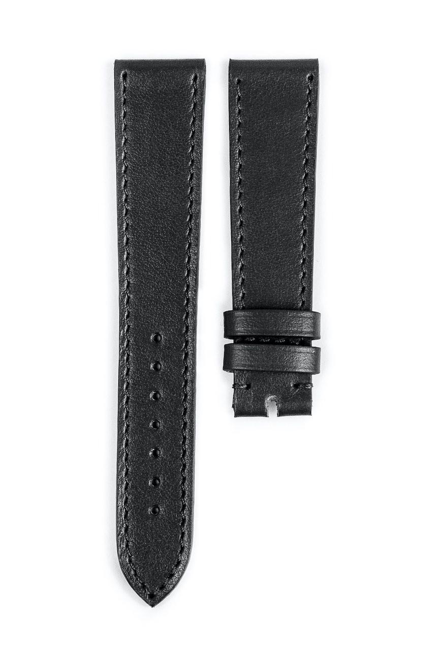 Monochrome hand-made smooth calfskin straps - 14