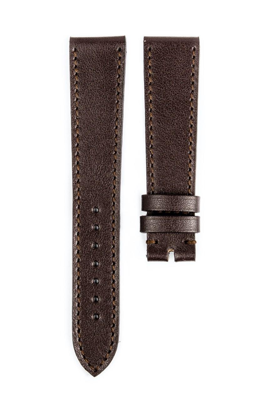 Monochrome hand-made smooth calfskin straps - 15
