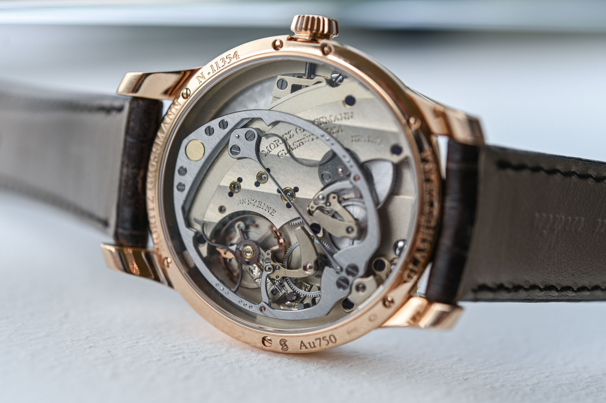Moritz Grossmann Hamatic - self-winding hammer system