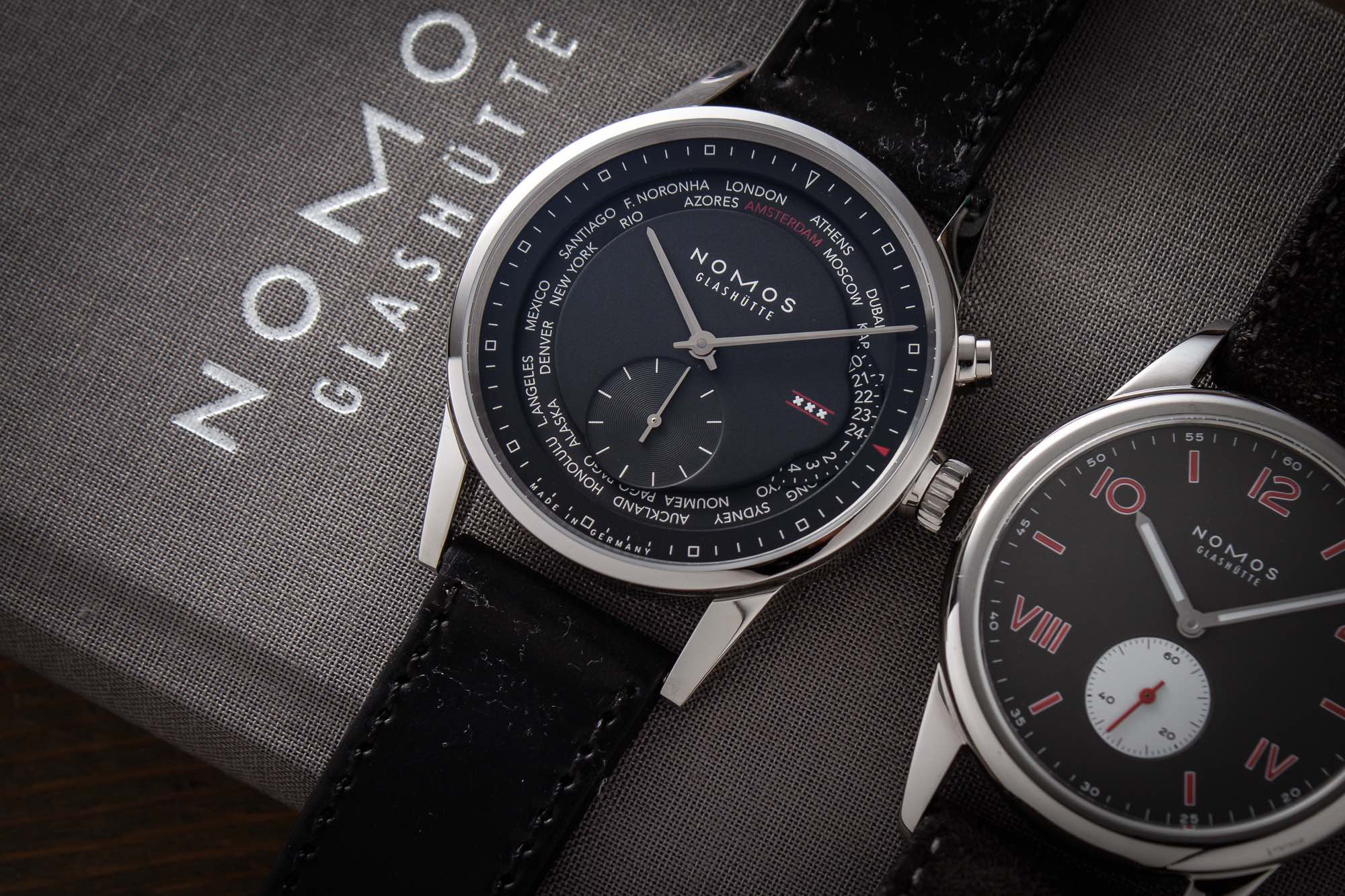 Nomos Zurich Weltzeit Amsterdam Edition For ACE Jewelers - 2