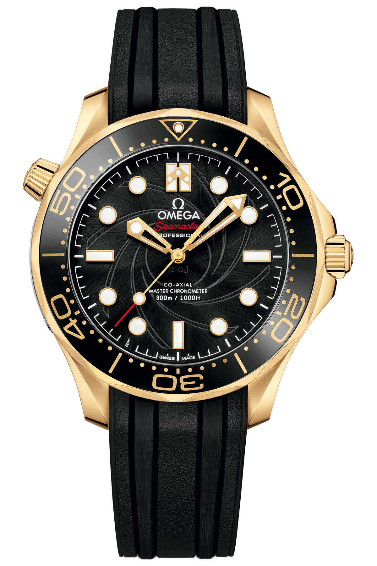 Omega Seamaster Diver 300M James Bond Limited Edition Set