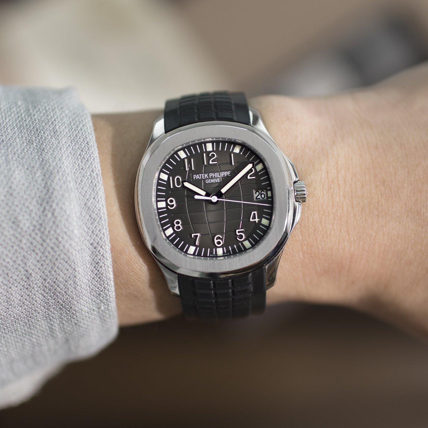 Patek Philippe Aquanaut 5167A steel - 5