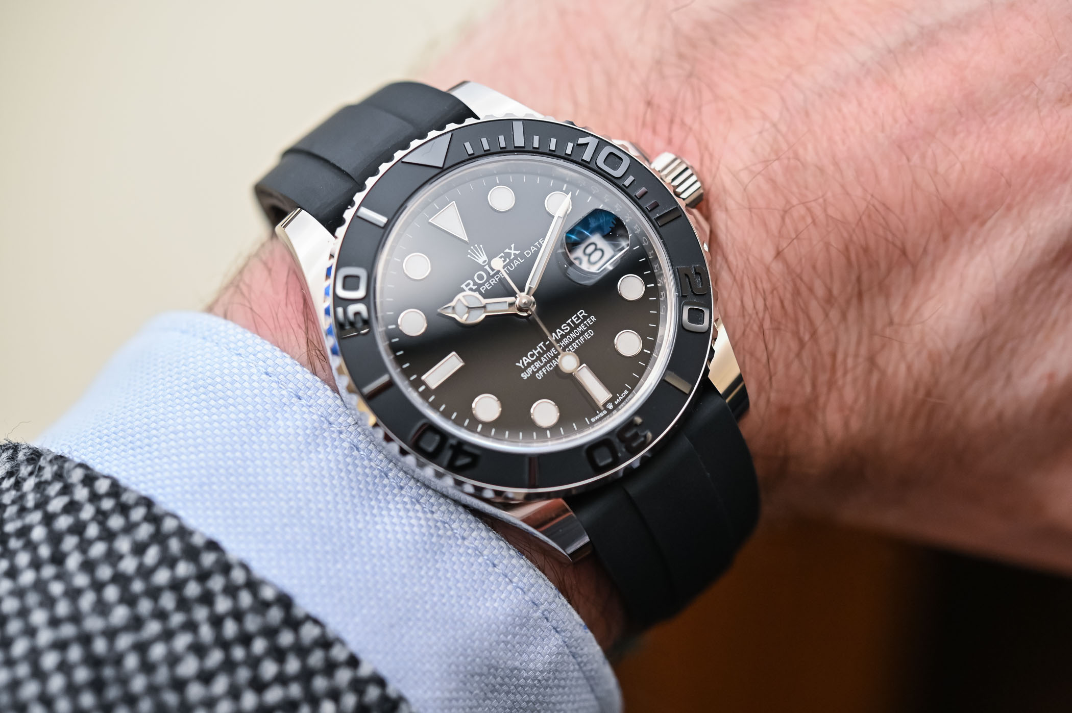 Rolex Yacht,Master 42 White Gold 226659 , Review, Specs \u0026 Price