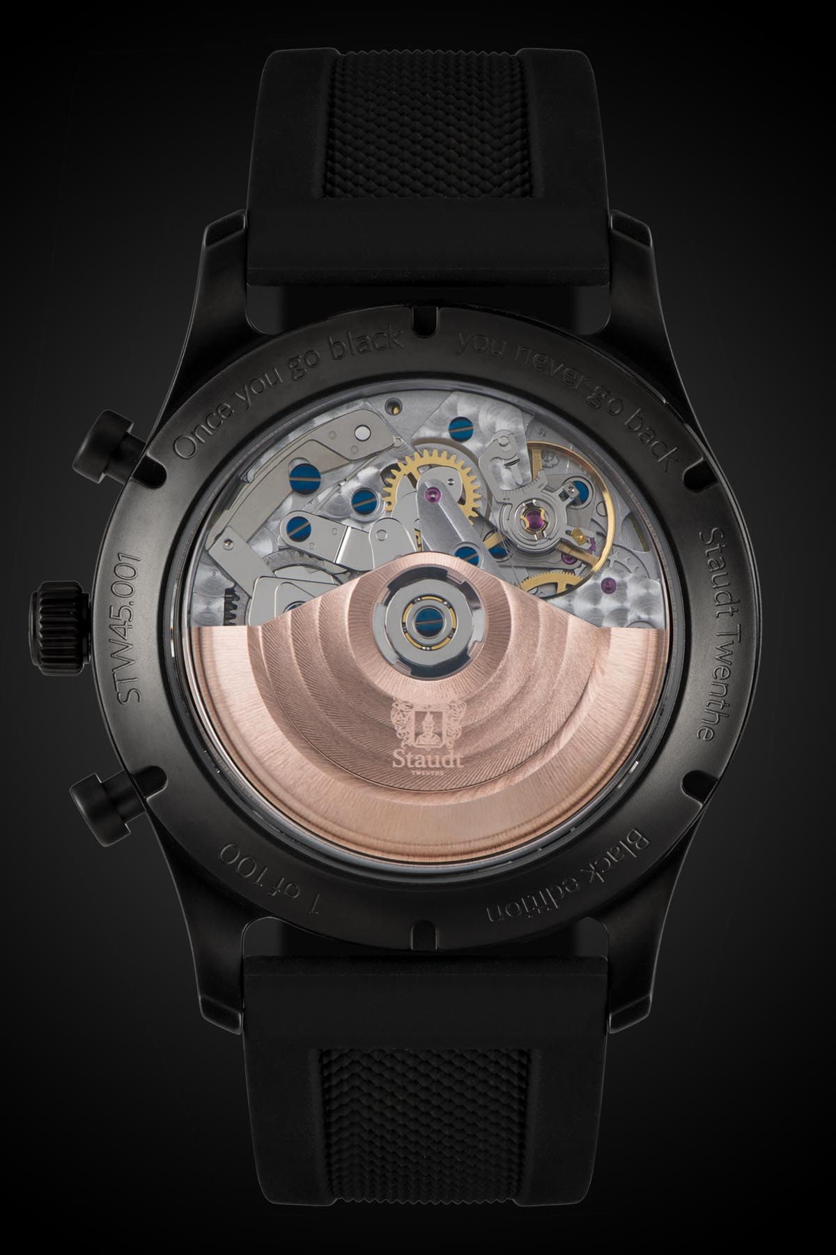 Staudt Praeludium Chronograph Black Edition