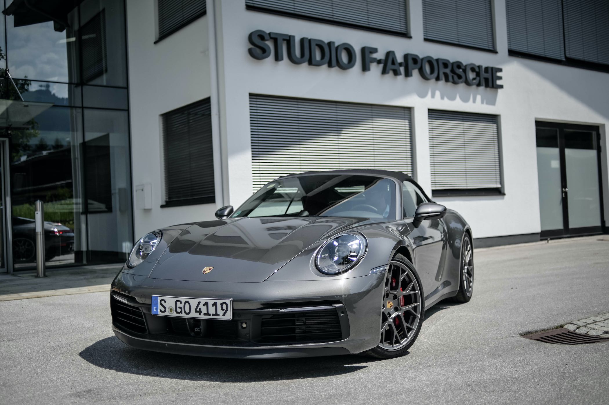 Video Review of the Porsche 992 - Driving the New 911 4S Convertible