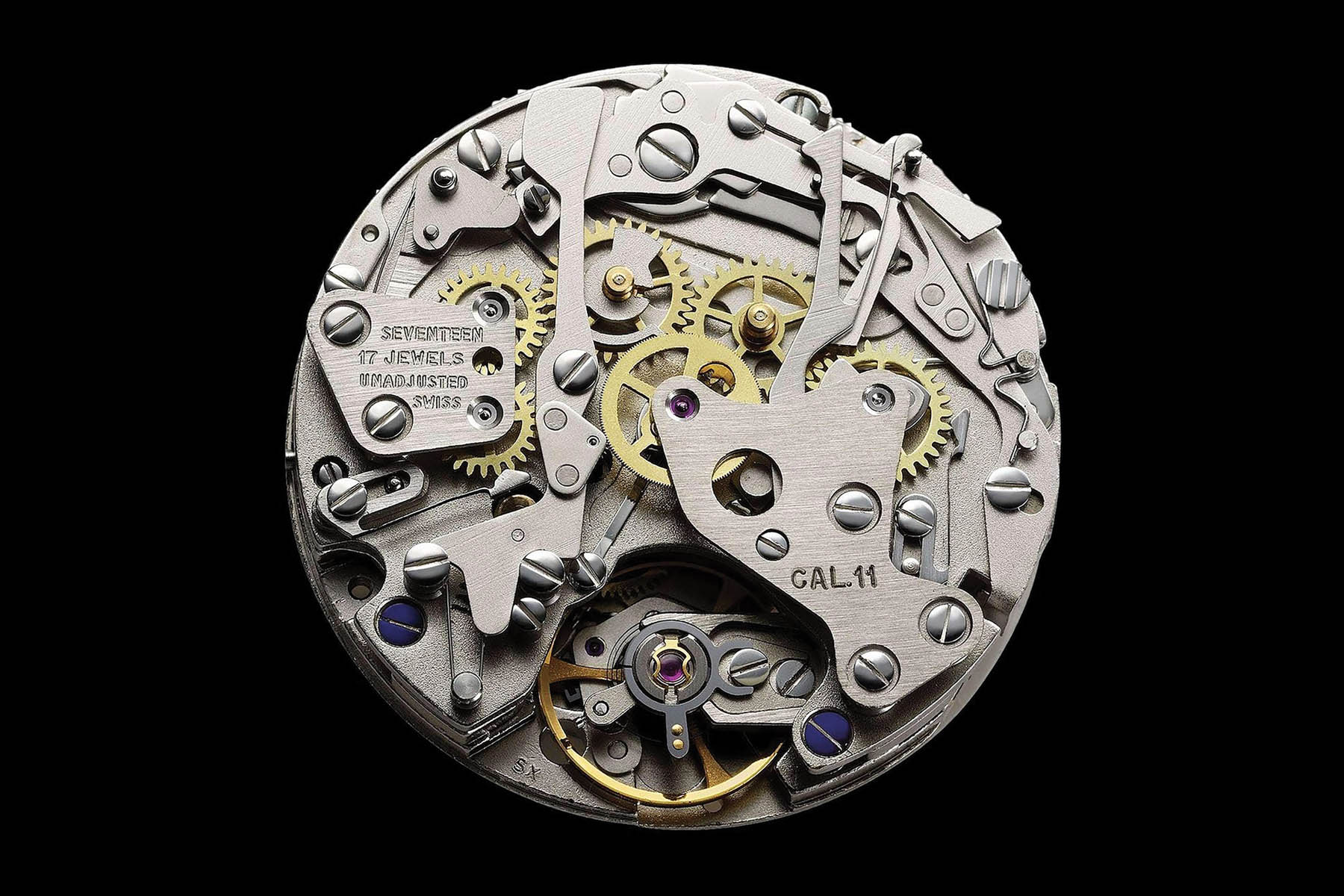 history calibre 11 automatic chronograph 1969