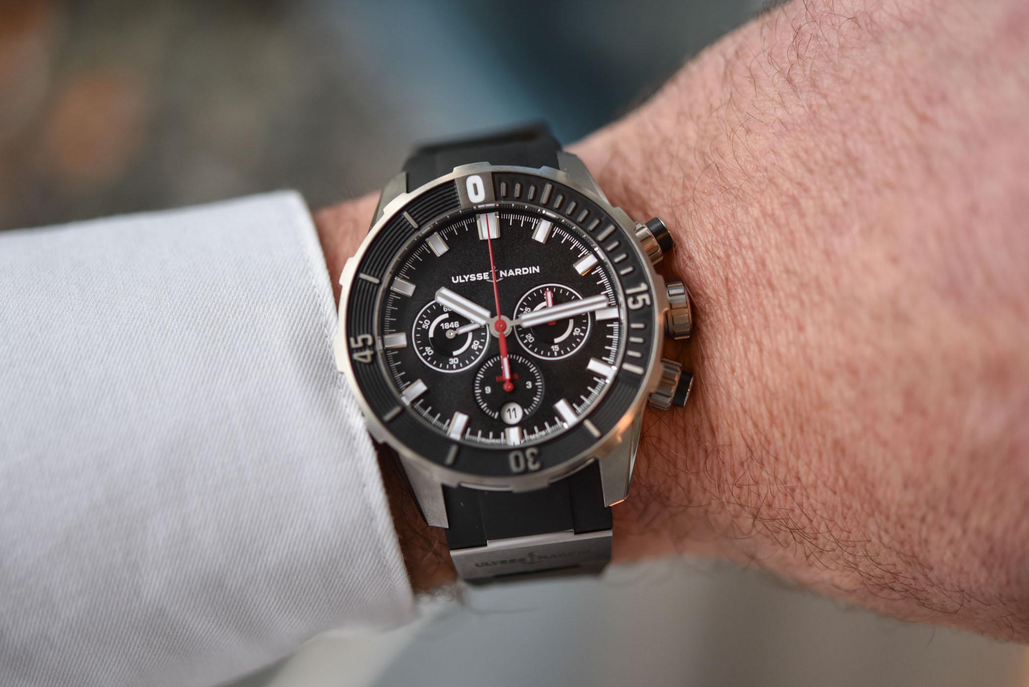 2019 Ulysse Nardin Diver Chronograph 44mm