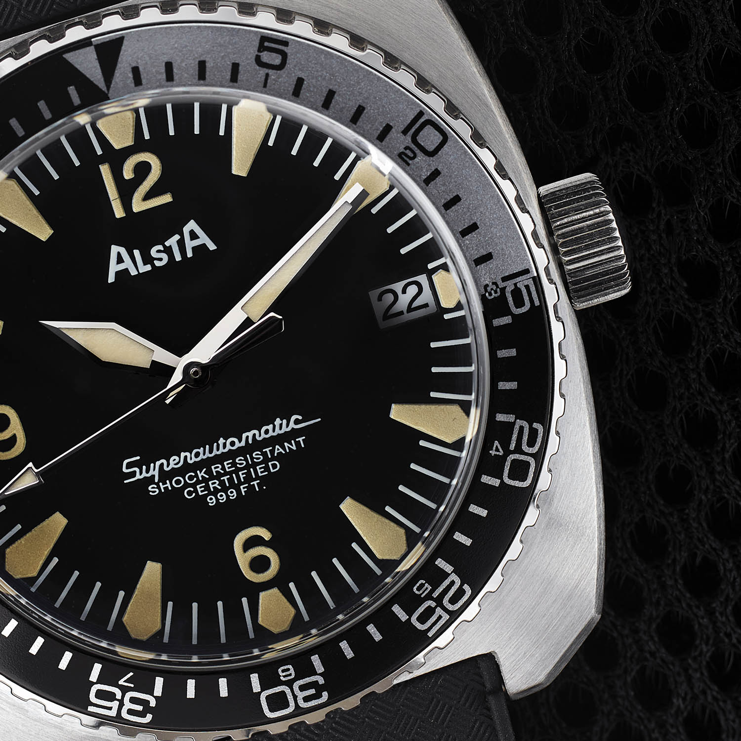 Alsta Nautoscaph Superautomatic 1970 Re-Edition - 1975 Movie Jaws re-issue