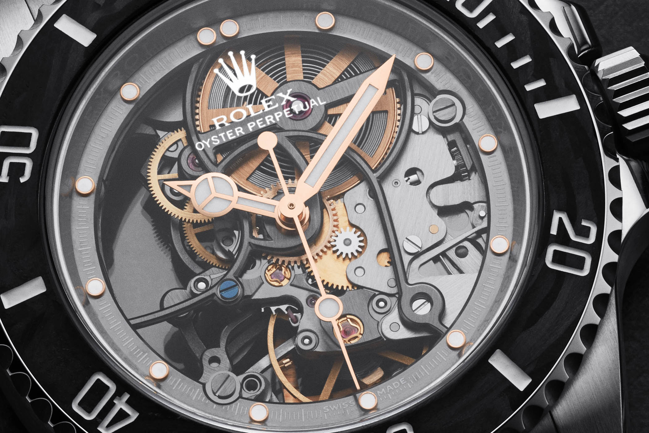 Artisans de Geneve Andrea Pirlo Project skeleton Rolex Submariner 114060