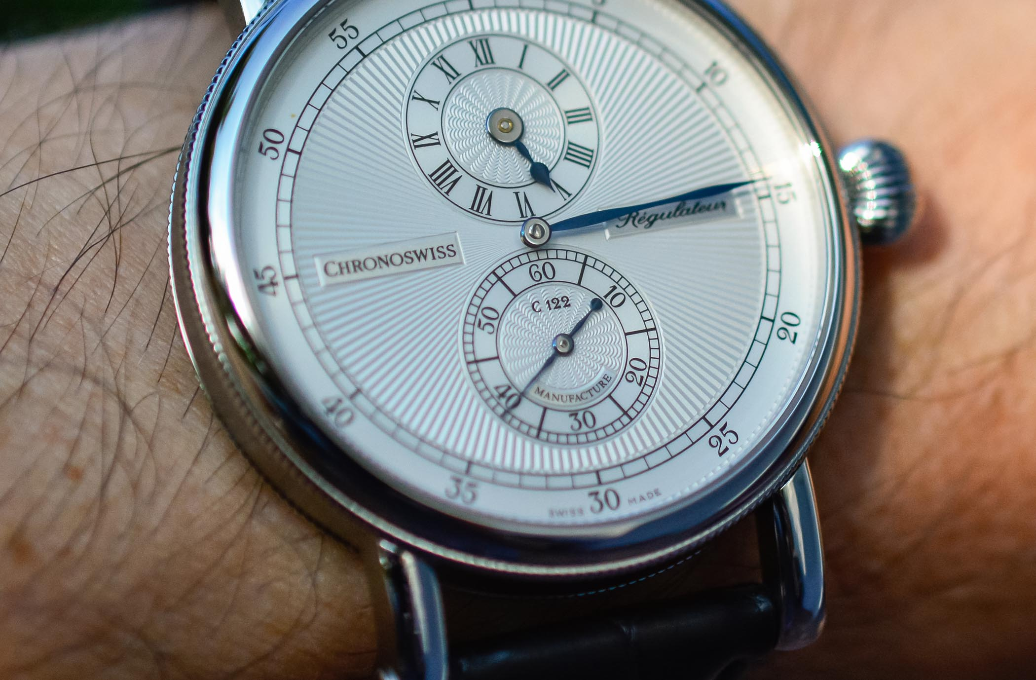 Chronoswiss Regulator Manufacture - Review - 10