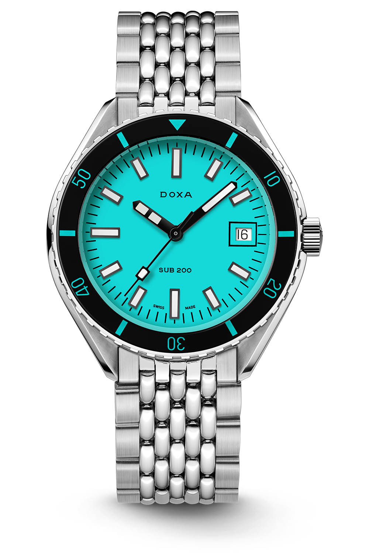Doxa Sub 200 aquamarine