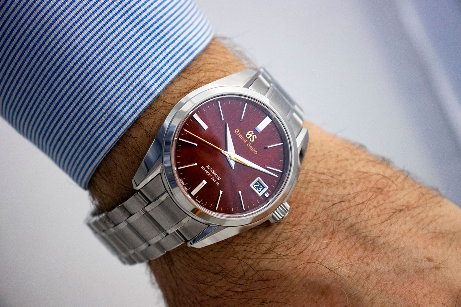 Grand Seiko Heritage Autumn Hi-Beat Limited Edition SBGH269