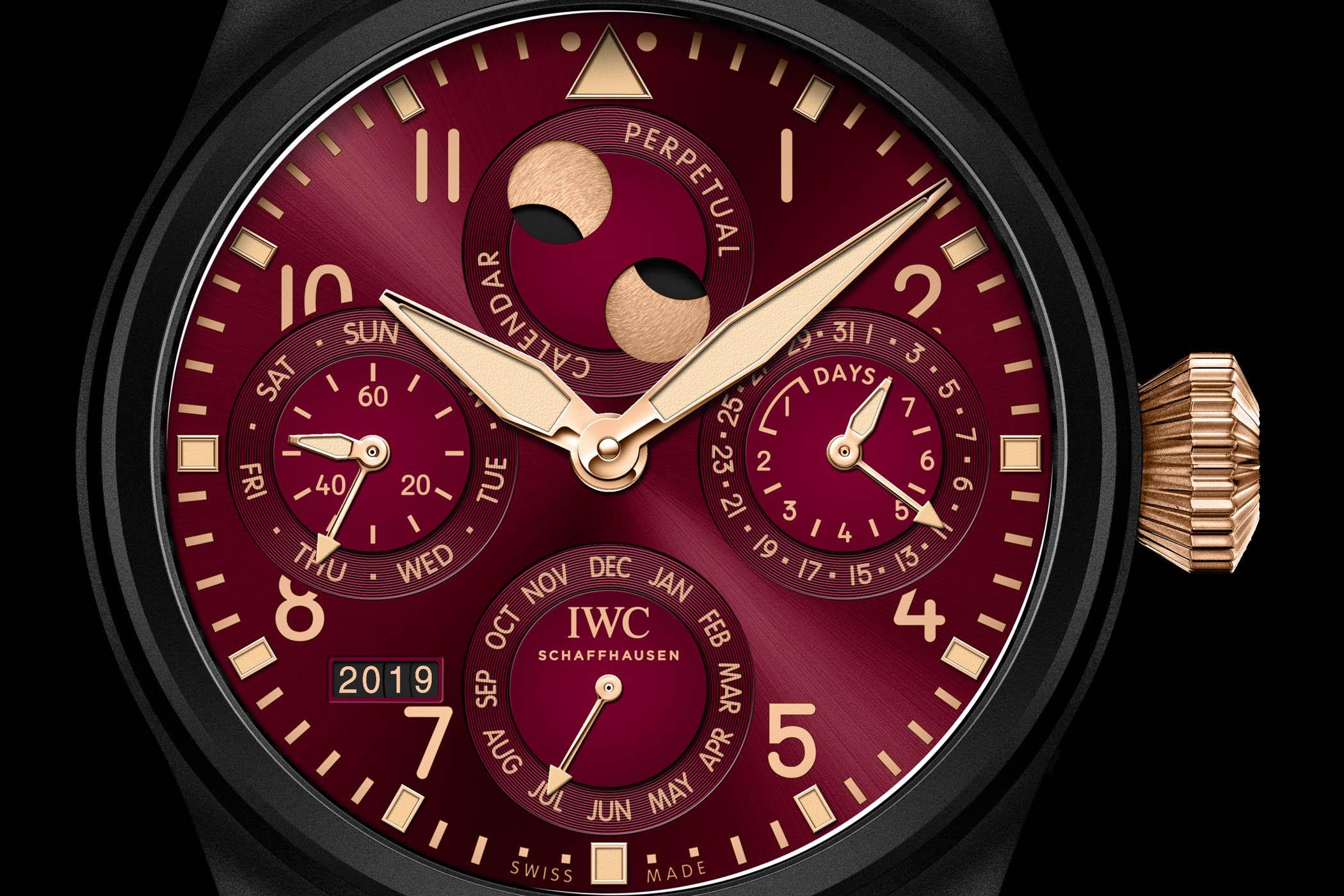 IWC Big Pilot's Watch Perpetual Calendar Edition Lewis Hamilton IW503002