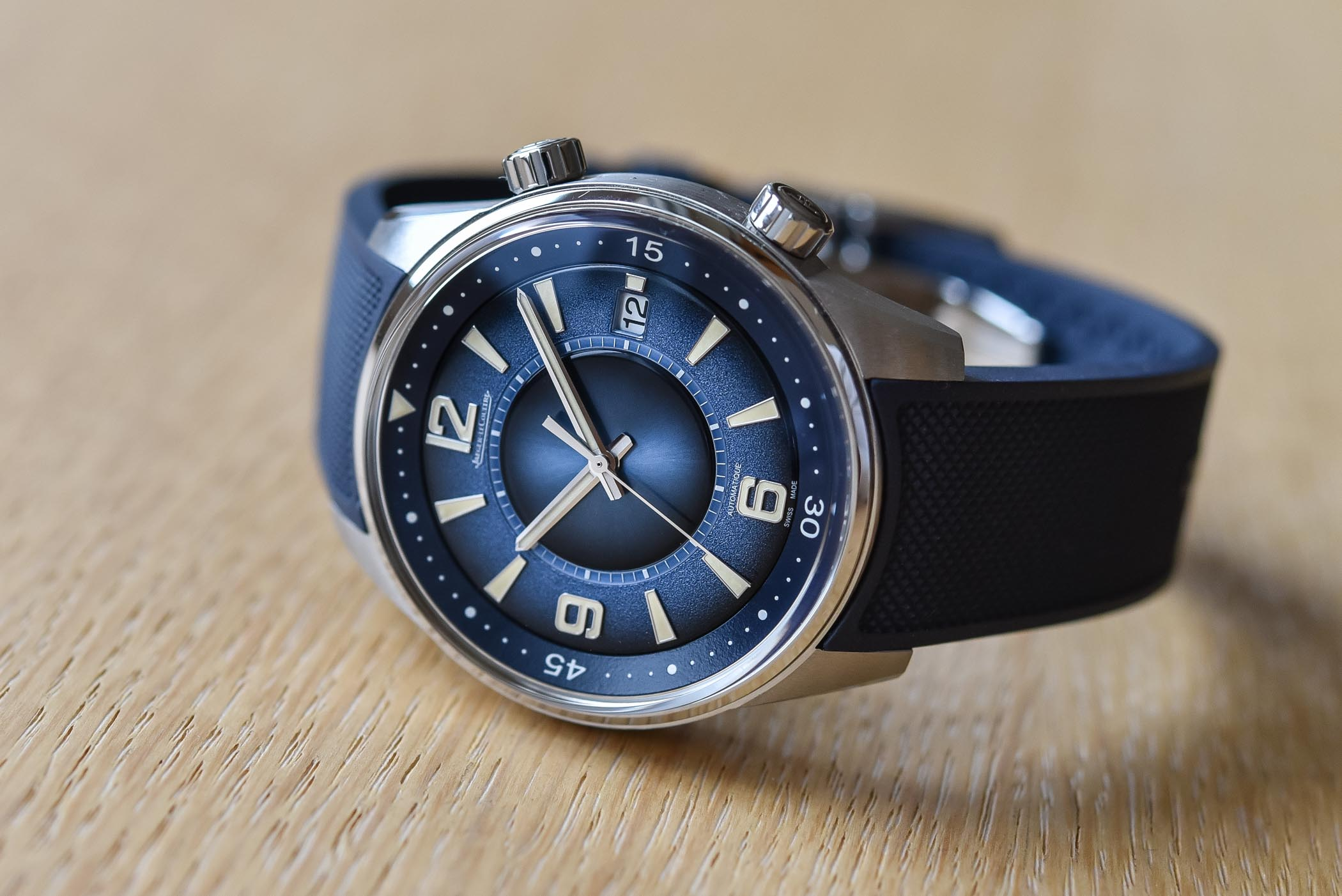 Jaeger-LeCoultre Polaris Date Limited Edition Blue Double Gradient