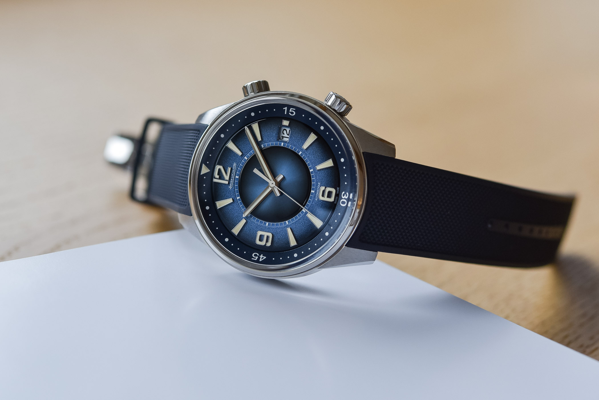 Jaeger-LeCoultre Polaris Date Limited Edition Blue Double Gradient
