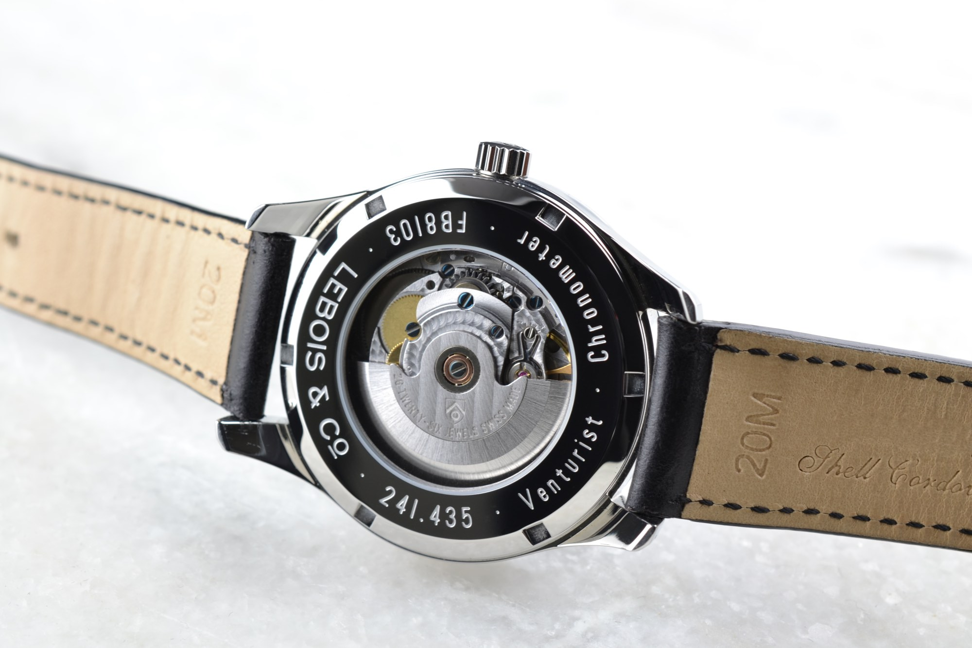 Lebois & Co Venturist Chronometer Observatoire Chronométrique+ certified