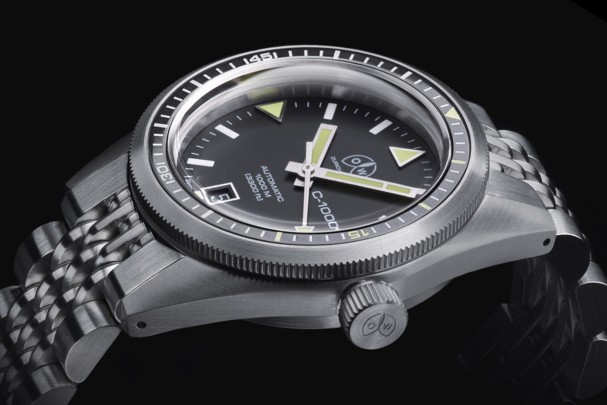 OW C-1000 - Tribute Ollech and Wajs Caribbean 1000 Dive Watch