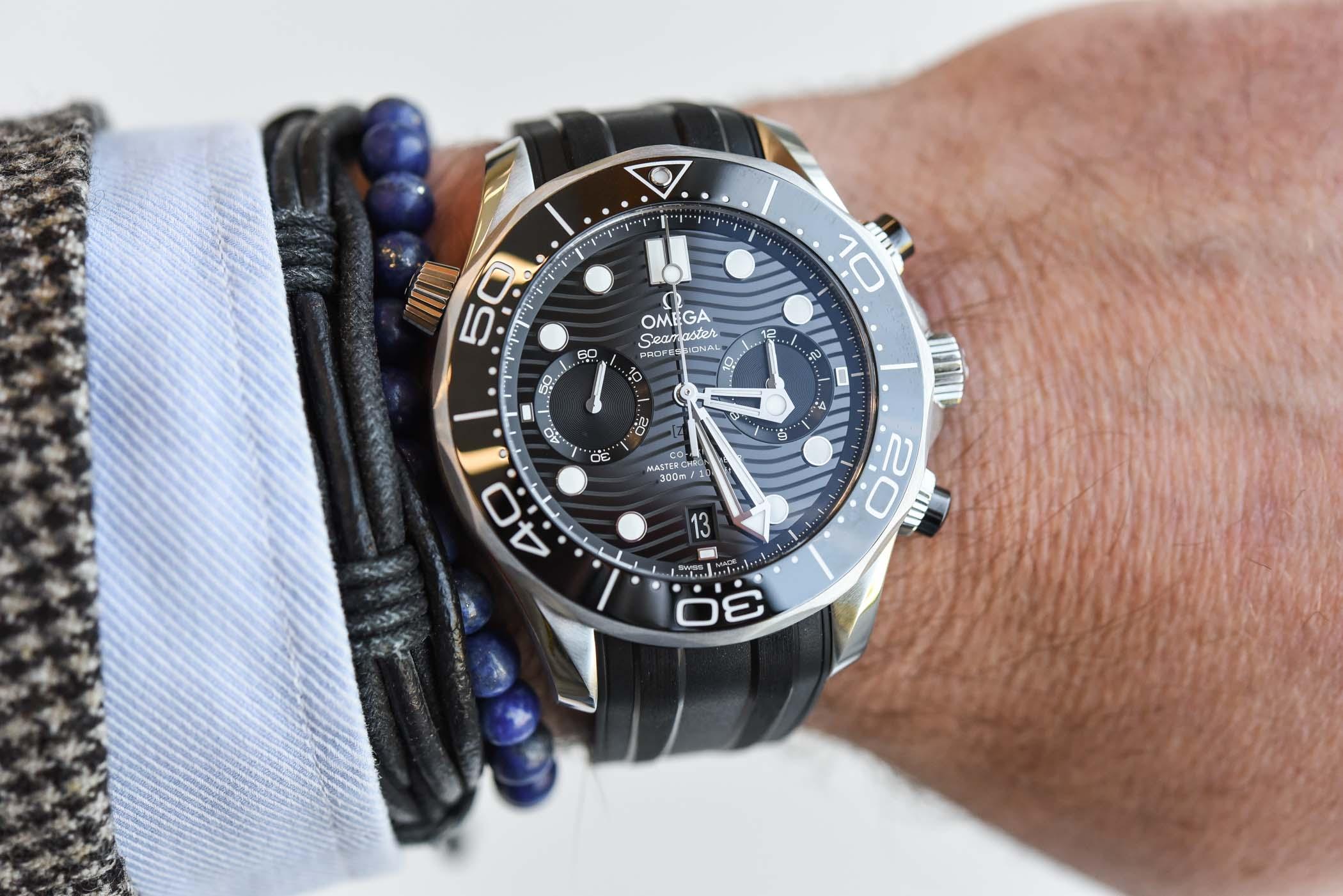 Omega Seamaster Diver 300M Chronograph Master Chronometer - 210.32.44.51.01.001