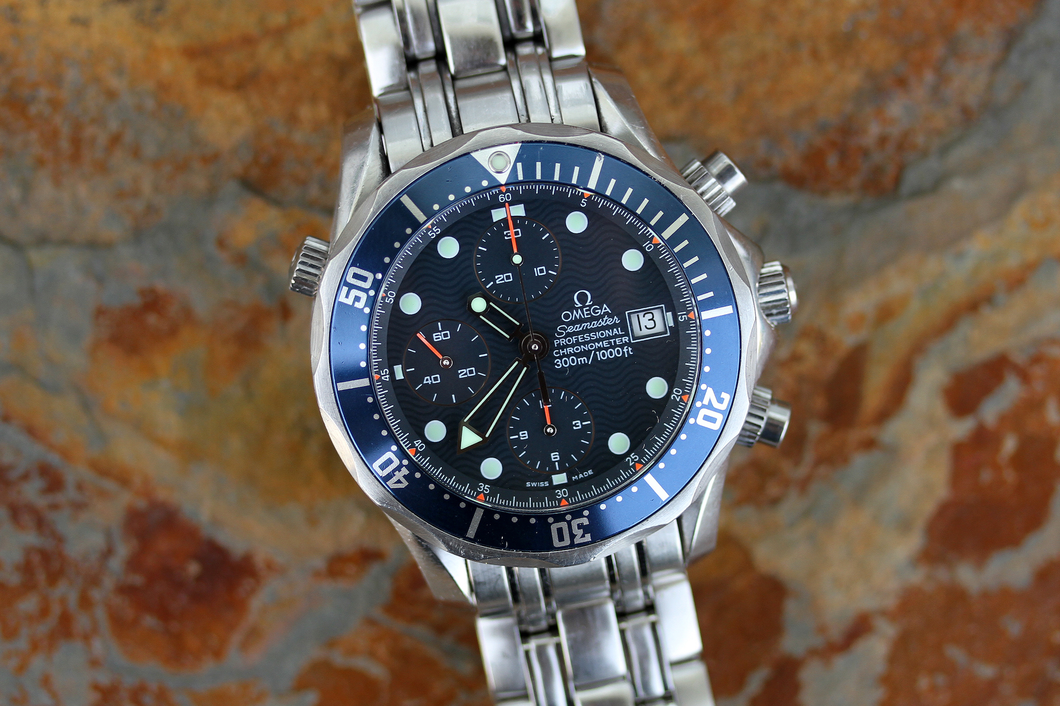 Omega Seamaster Diver 300m Chronograph Review Specs Price