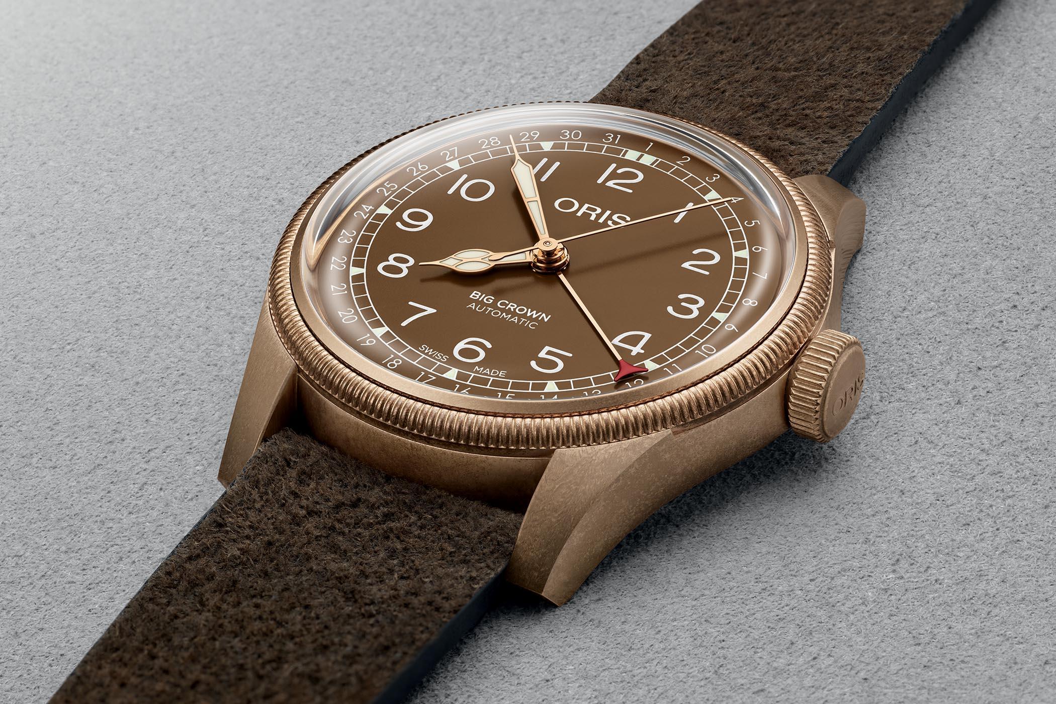 Oris Big Crown Bronze Pointer Date 40mm Bronze Dial - 01 754 7741 3166-07 5 20 74BR