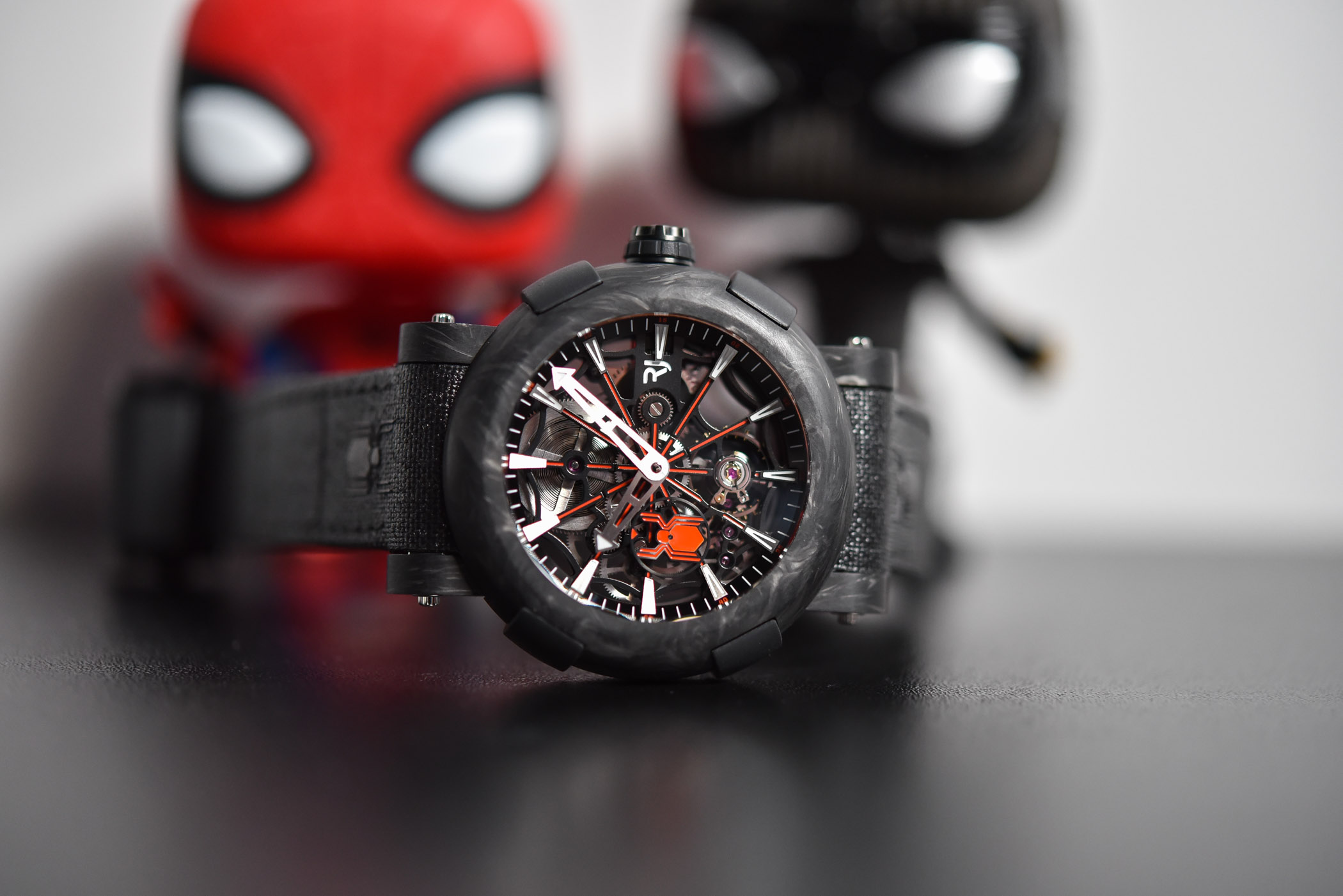 RJ ARRAW Spider-Man Carbon Skeleton