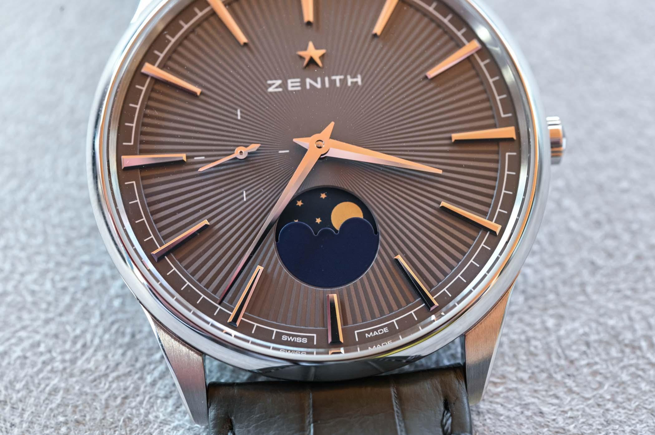 2020 Zenith Elite Moonphase 40.5mm Steel
