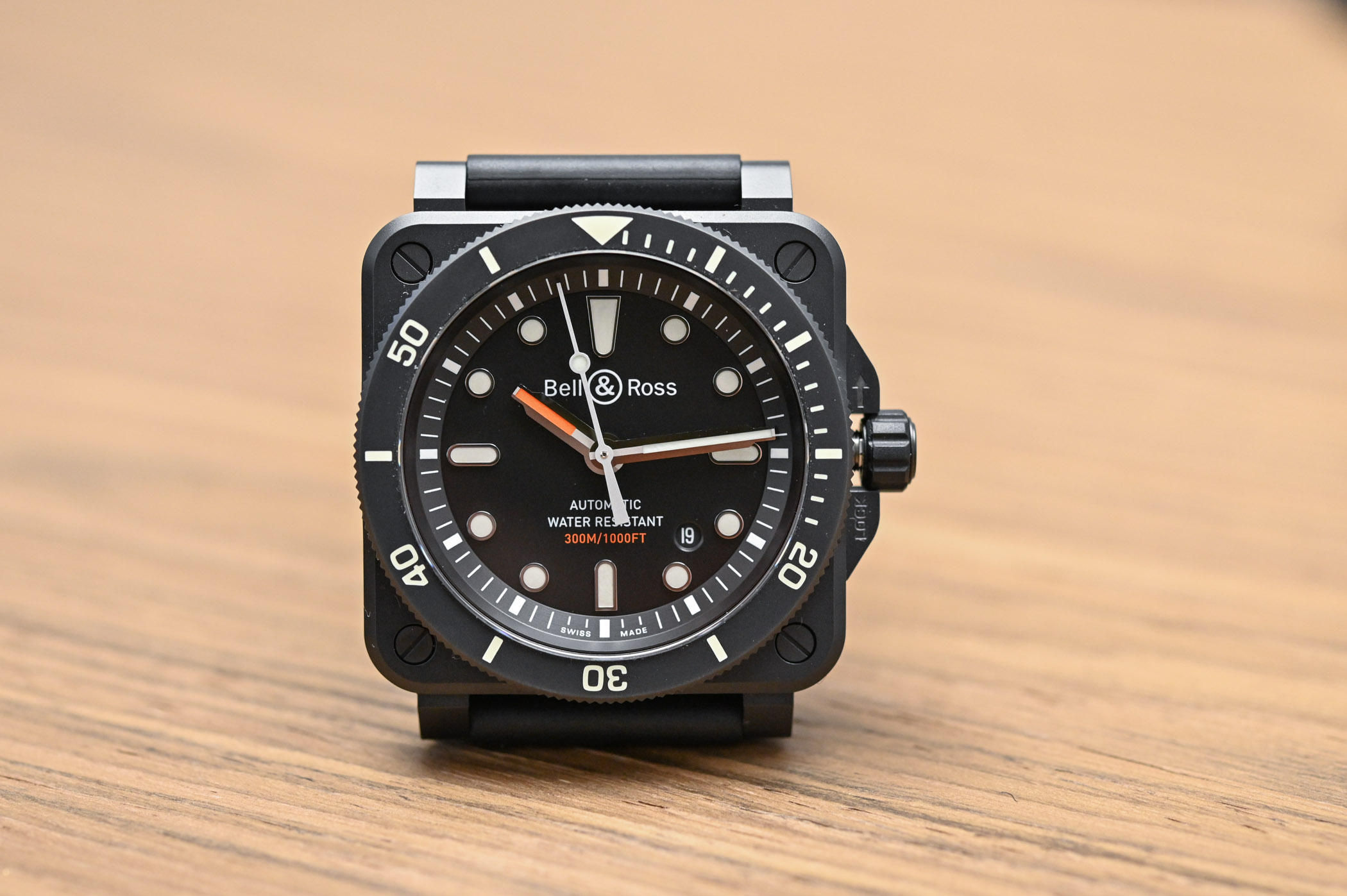 Bell and Ross BR 03-92 Diver Matte Black - 1