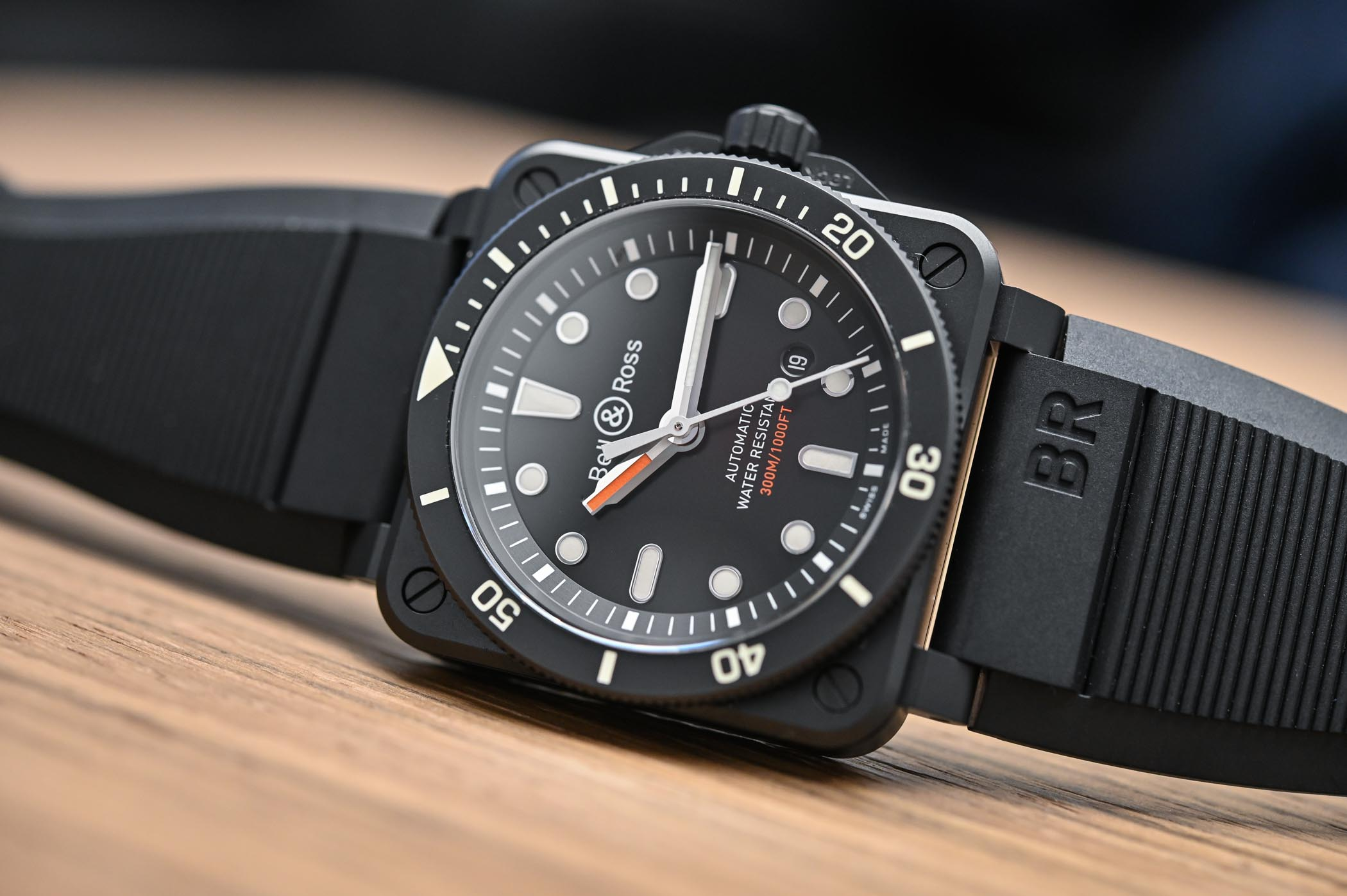 Bell and Ross BR 03-92 Diver Matte Black - 3