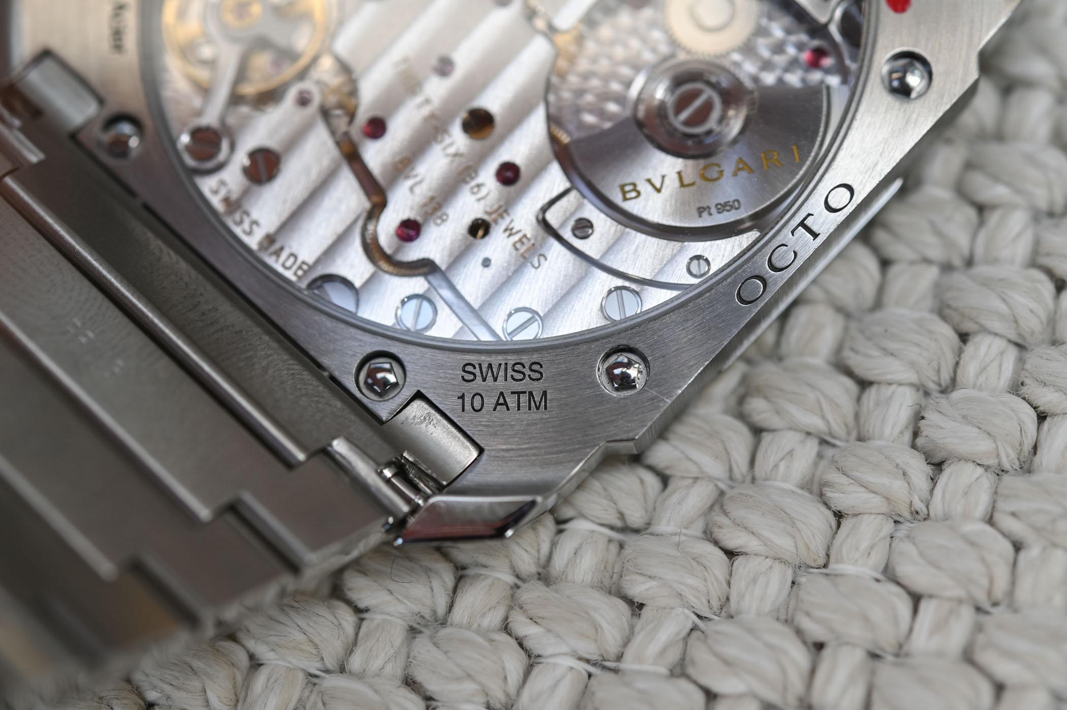 Bvlgari Octo Finissimo Automatic Satin-Polished Steel 103297