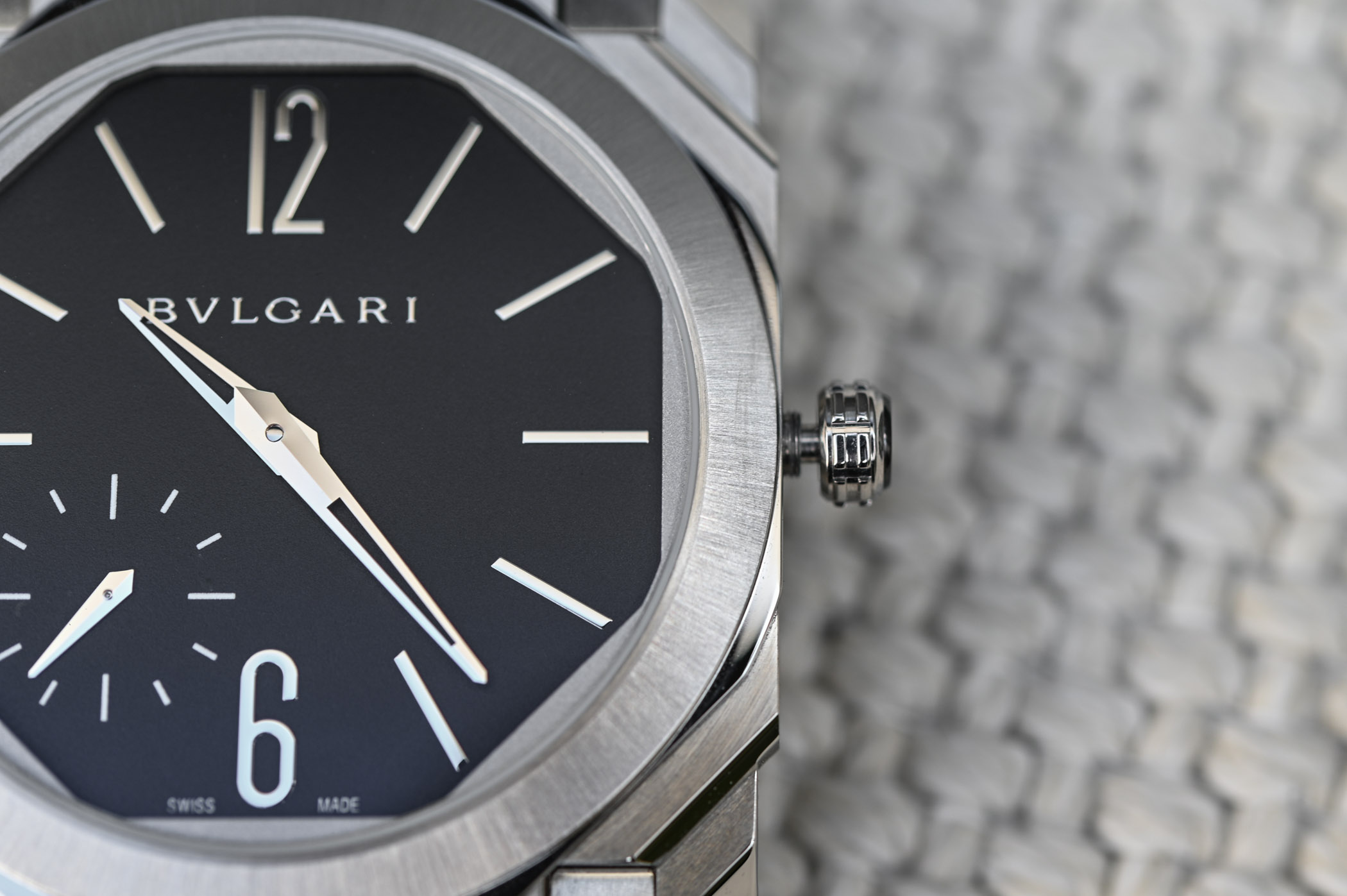 Bvlgari Octo Finissimo Automatic Satin-Polished Steel