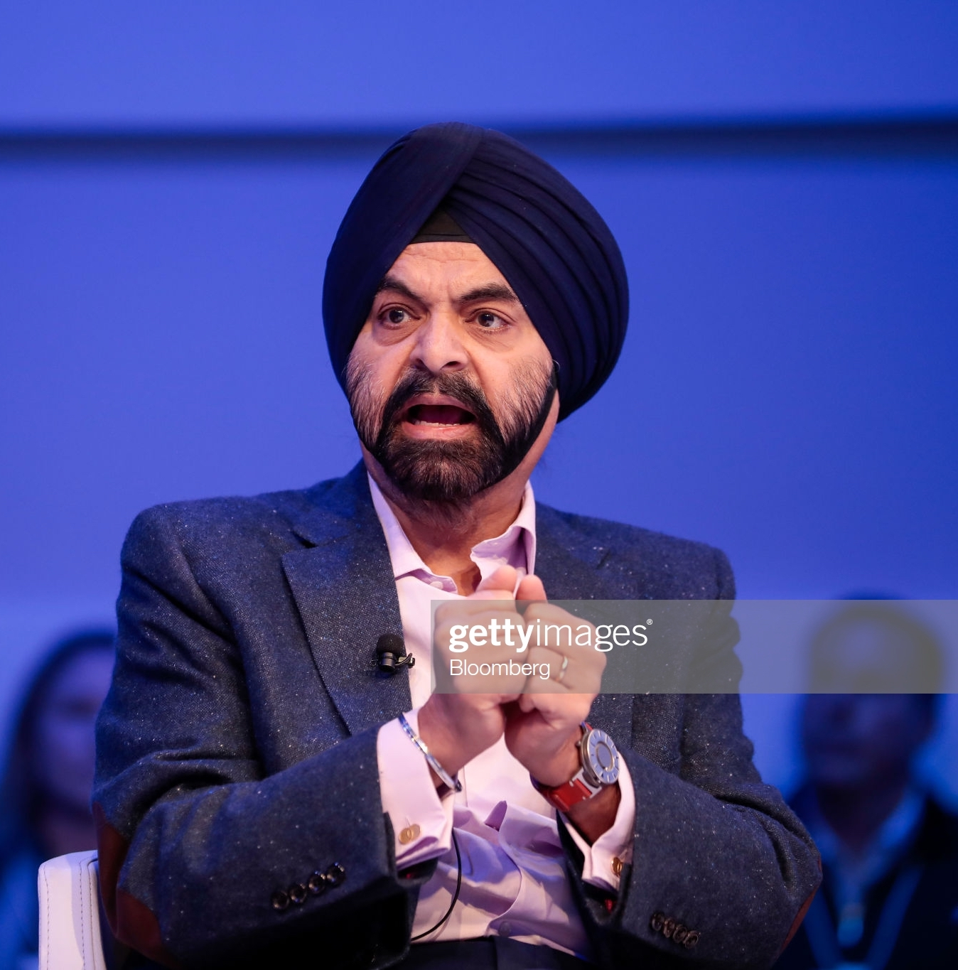 Ajay Banga, president and CEO of MasterCard Inc. - Photo by Jason Alden/Bloomberg via Getty Images