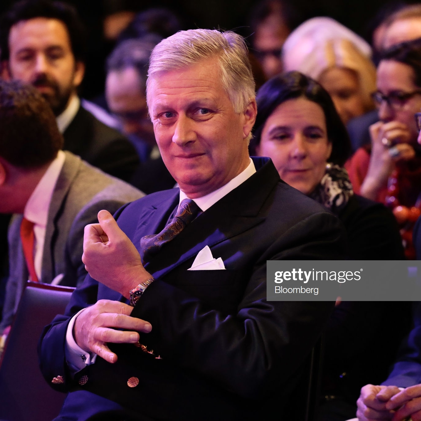 King Philippe of Belgium - Photo by Jason Alden/Bloomberg via Getty Images