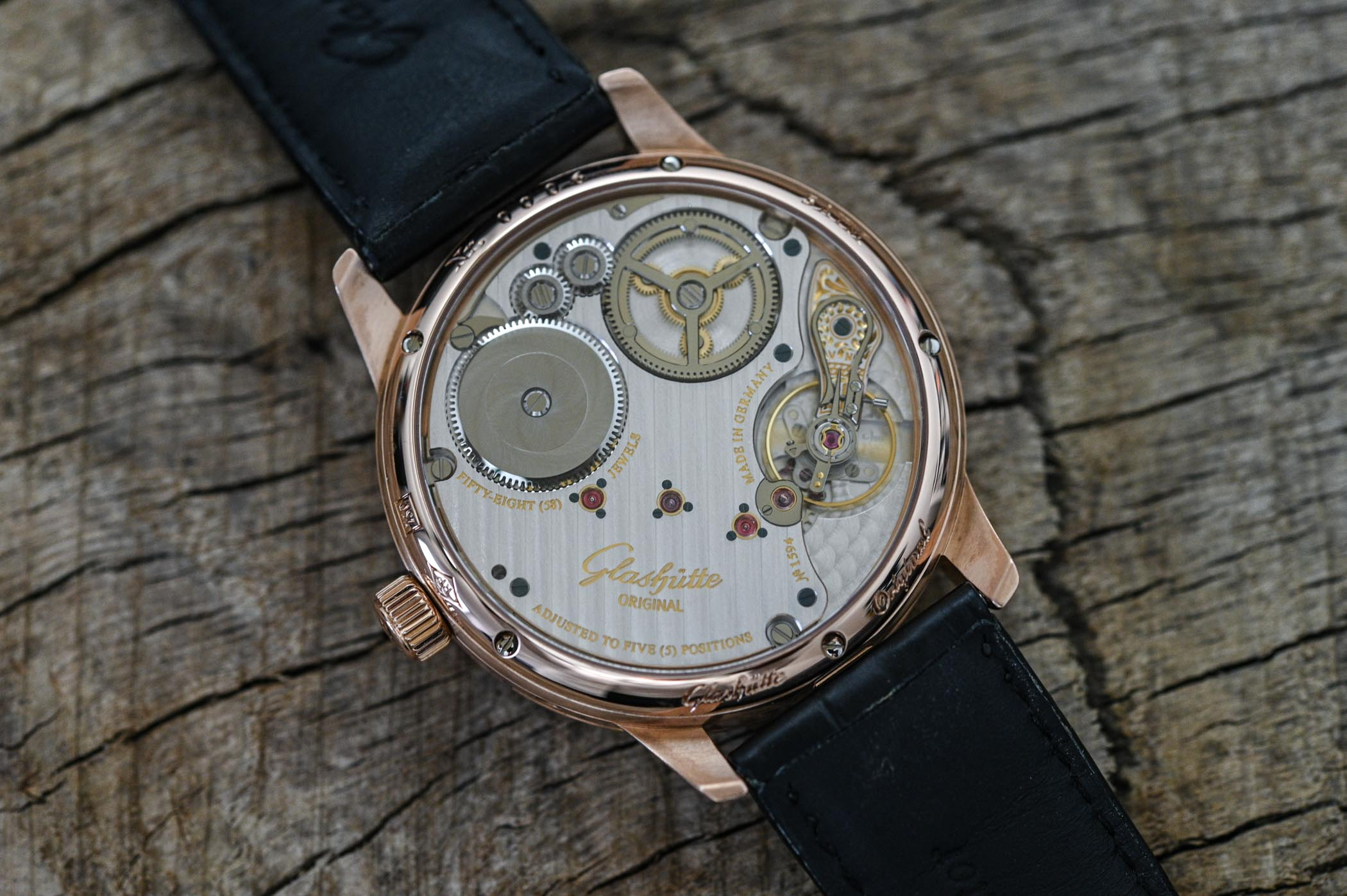 Glashutte Original Senator Chronometer Regulator