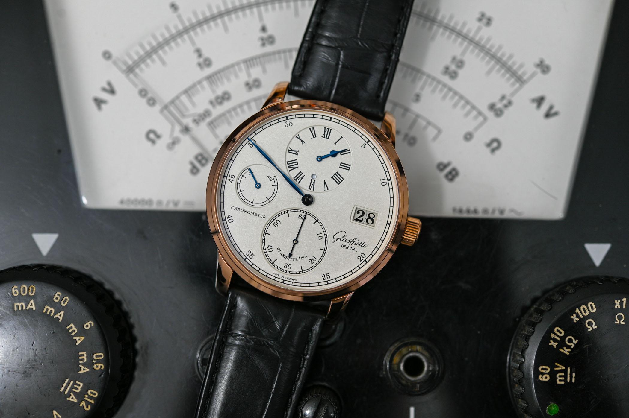Glashutte Original Senator Chronometer Regulator
