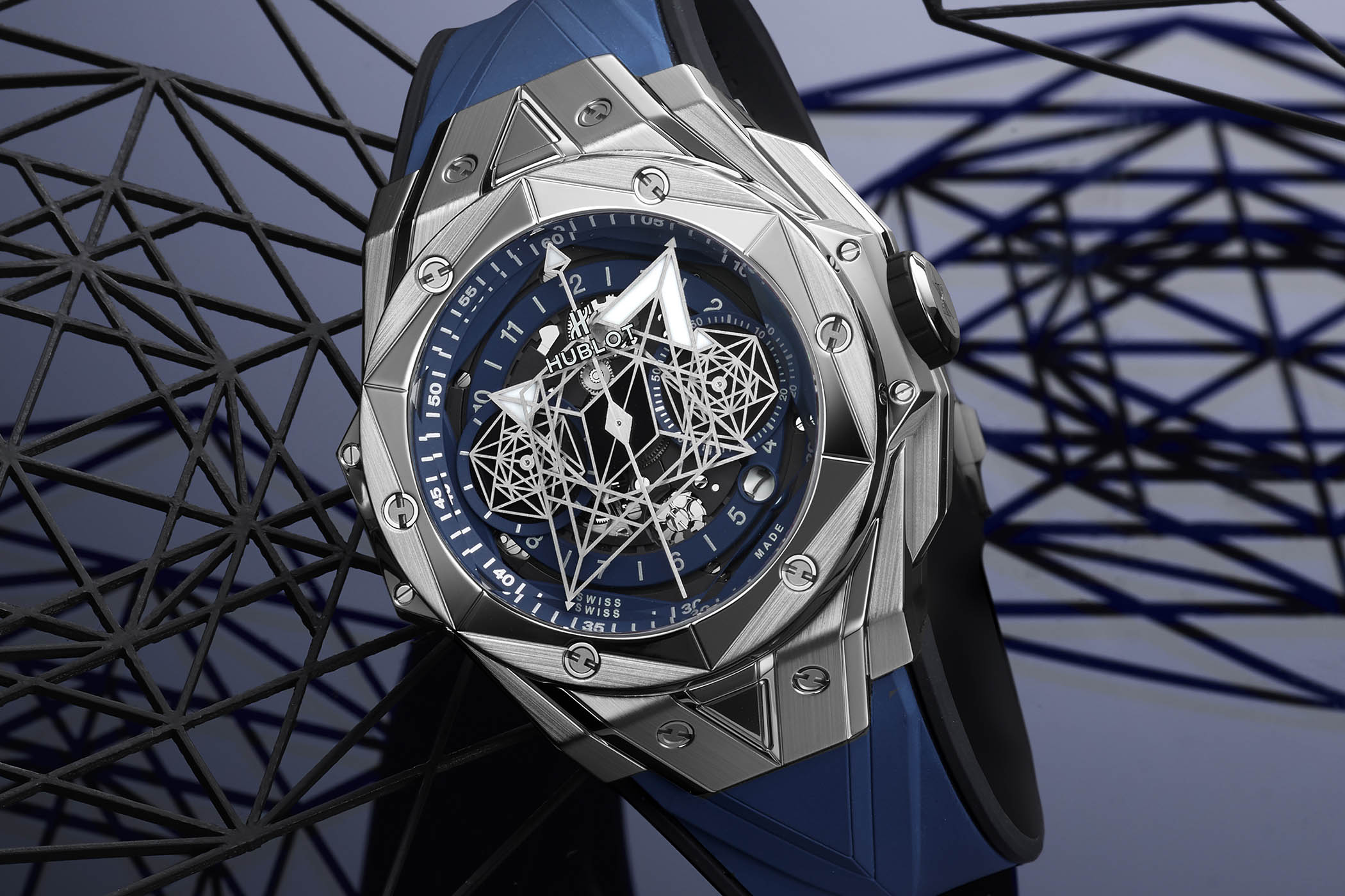 Hublot Big Bang Sang Bleu II